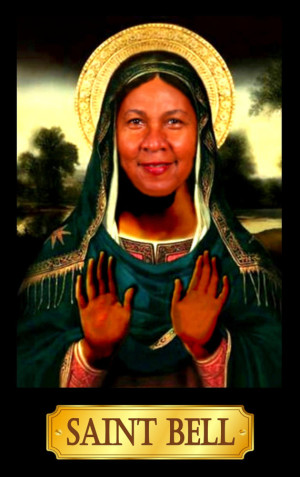 Sainted Writers Candle - bell hooks